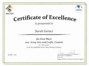 Prize Certificates Templates Free Unique 1St Place Award within First Place Award Certificate Template