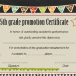 Promotion Certificate 5Th Grade – Google Search | Graduation Inside Quality Grade Promotion Certificate Template Printable