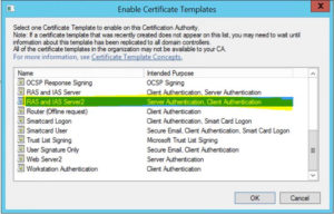 Publish The Ras And Ias Server Certificate Template To Your regarding Best Workstation Authentication Certificate Template