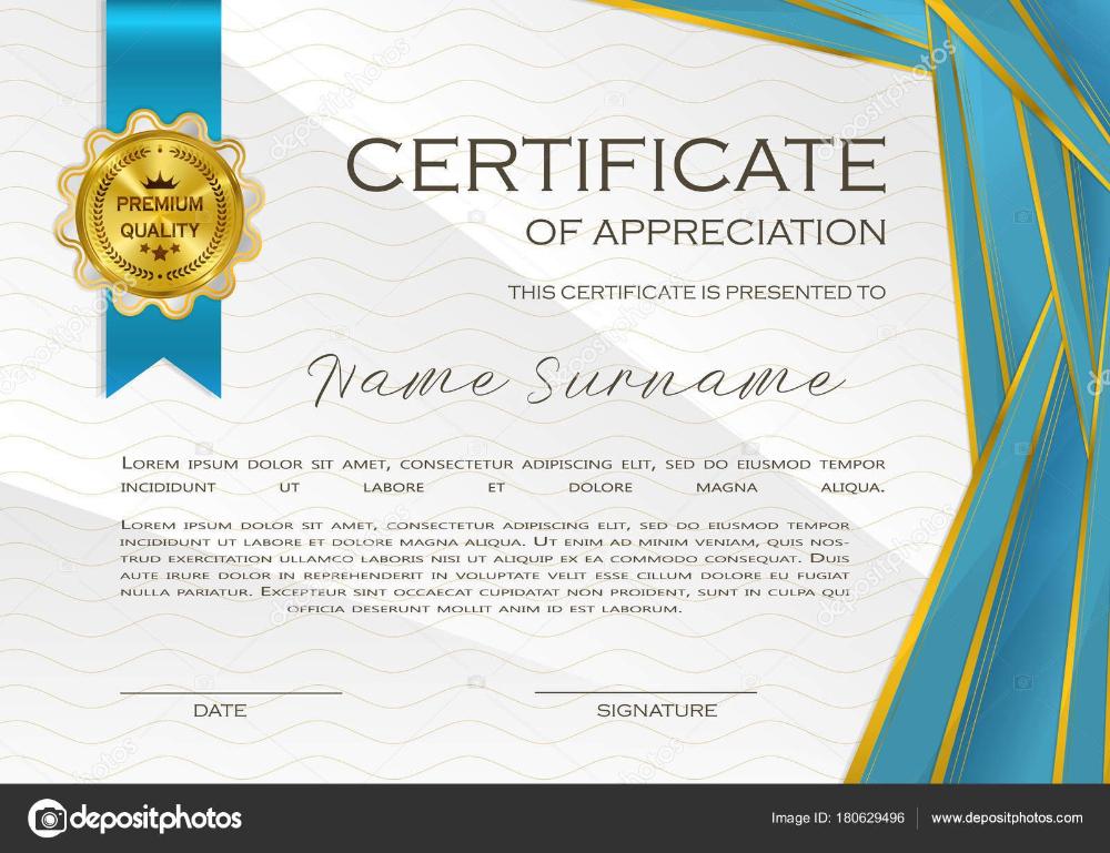 Qualification Certificate Appreciation Design Elegant Luxury with regard to Best Qualification Certificate Template