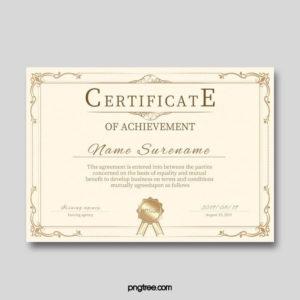 Qualification Certificate Template   Certificate Templates for Qualification Certificate Template