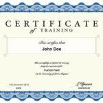 Qualification Certificate Template | Certificate Templates With Best Qualification Certificate Template