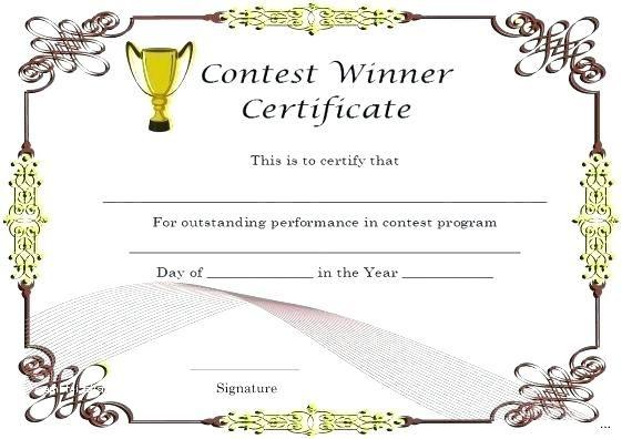 Quiz Winner Certificate Template Seven Ways On How To Get regarding Quality Contest Winner Certificate Template