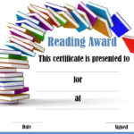 Reading Certificate Templates | Reading Certificates pertaining to Reader Award Certificate Templates
