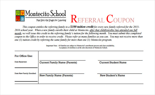 Referral Certificate Template (8) - Templates Example for Referral Certificate Template