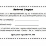 Referral Certificate Template | Coupon Template, Certificate with Referral Certificate Template