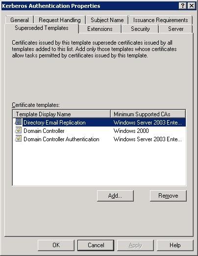 Replacing Legacy Domain Controller Certificates - Cloud Azzurri in Domain Controller Certificate Template