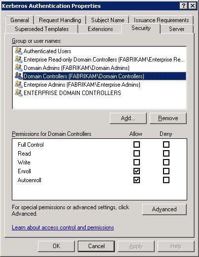 Replacing Legacy Domain Controller Certificates – Cloud Azzurri With Regard To Domain Controller Certificate Template