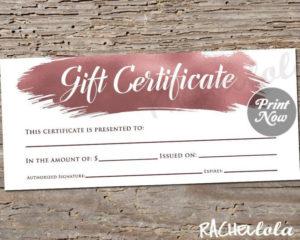 Restaurant Gift Certificate Templates ~ Addictionary with Unique Restaurant Gift Certificates Printable