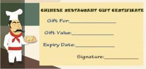 Restaurant Gift Certificate Templates: Gift Tastefully To regarding Unique Restaurant Gift Certificates Printable