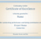 Reward An Employee'S Outstanding Performance With This regarding Outstanding Performance Certificate Template