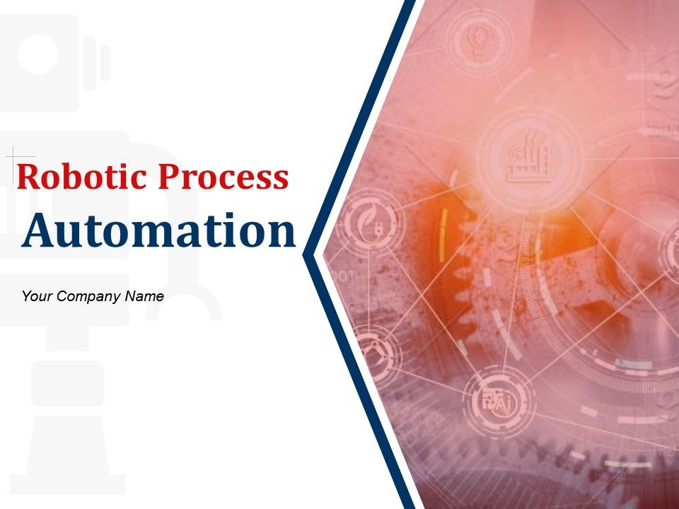 Robotic Process Automation Powerpoint Presentation Slides within Quality Free 9 Smart Robotics Certificate Template Designs