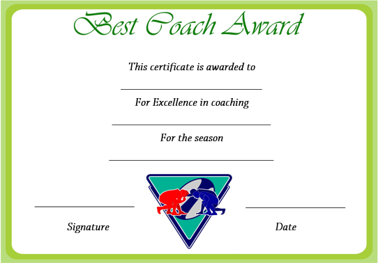 Rugby League Certificate Templates (3) – Templates Example With Regard To Fresh Rugby League Certificate Templates