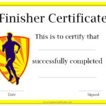 Running Awards | Certificate Templates, Online Education Regarding Running Certificate Templates