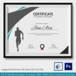 Running Certificate Template – Carlynstudio With Regard To Running Certificate Templates 10 Fun Sports Designs