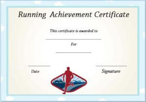Running Certificate Templates : 20+ Free Editable Word inside Running Certificate Templates 10 Fun Sports Designs