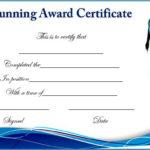 Running Certificate Templates : 20+ Free Editable Word Intended For New Running Certificate Templates 10 Fun Sports Designs