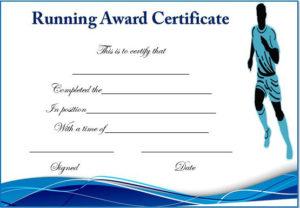 Running Certificate Templates : 20+ Free Editable Word pertaining to Editable Running Certificate
