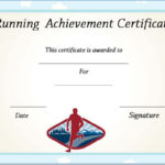Running Certificate Templates : 20+ Free Editable Word Regarding Editable Running Certificate