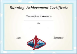 Running Certificate Templates : 20+ Free Editable Word with Running Certificate Templates