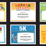 Running Certificates Templates | Runner Awards Cross Country pertaining to Running Certificate Templates 10 Fun Sports Designs