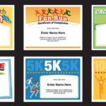Running Certificates Templates | Runner Awards Cross Country Within Best Running Certificate Templates