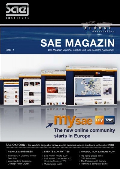 Sae Magazin - Sae Alumni Association - Sae Institute intended for Hip Hop Certificate Template 6 Explosive Ideas