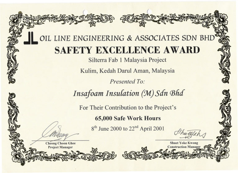 Safety Recognition Certificate Template (1) - Templates in Safety Recognition Certificate Template