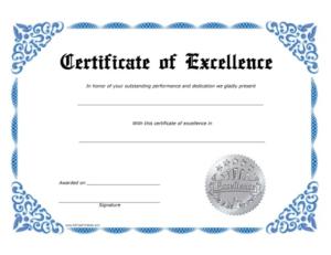 Sales Certificate Template (1)   Professional Templates throughout Best Sales Certificate Template