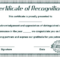 Sales Certificate Template (8) - Templates Example for Sales Certificate Template