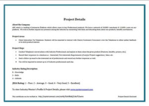 Sample Company Certificate Given On Project Completion intended for Certificate Template For Project Completion