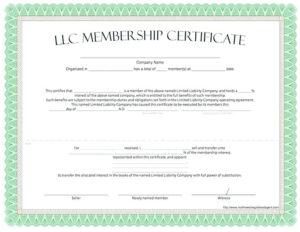 Sample Partnership Buyout Agreement Template Operating regarding Best Llc Membership Certificate Template