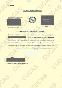 Sample & Standard : Certificate Of Good Conduct – Cucas with Good Conduct Certificate Template