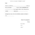 Sample & Standard : Certificate Of Good Conduct – Cucas Within Fresh Good Conduct Certificate Template