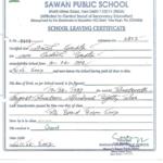 School Leaving Certificate | School Leaving Certificate Within New Leaving Certificate Template