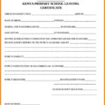 School Leaving Certificate Template (1) – Templates Example Intended For New Leaving Certificate Template