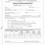 School Leaving Certificate Template (6 (With Images For Leaving Certificate Template