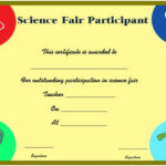 Science Fair Participation Certificate : 11+ Free Editable With New Free 6 Printable Science Certificate Templates
