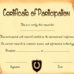 Scroll Certificate Template Printable | Certificate Intended For Scroll Certificate Templates