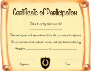 Scroll Certificate Template Printable   Certificate pertaining to Certificate Scroll Template