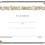 Service Certificate Template Free [11+ Top Ideas] intended for Fresh Years Of Service Certificate Template Free 11 Ideas
