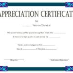 Service Certificate Template Free [11+ Top Ideas] Pertaining To Years Of Service Certificate Template Free 11 Ideas