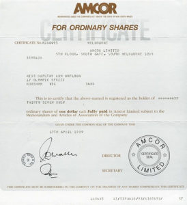 Share Certificate Template Australia In 2020   Certificate throughout Fresh Share Certificate Template Australia