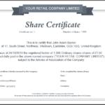Share Certificate Template Companies House (2) – Templates Throughout Quality Share Certificate Template Companies House