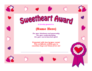 Share The Love: Ms Office Templates And Printables For throughout Love Certificate Templates