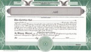Should We Issue Llc Membership Certificates? – The High inside Llc Membership Certificate Template