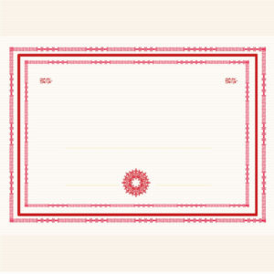 Simple Small Fresh Graduation Certificate Template throughout Fresh Small Certificate Template