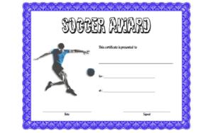 Soccer Award Certificate Template Free 4 In 2020 | Awards in Best Soccer Mvp Certificate Template