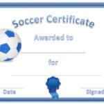 Soccer Award Certificates   Soccer Awards, Soccer, Award In Fresh Soccer Award Certificate Templates Free