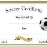 Soccer Award Certificates | Soccer Awards, Soccer for Soccer Award Certificate Template